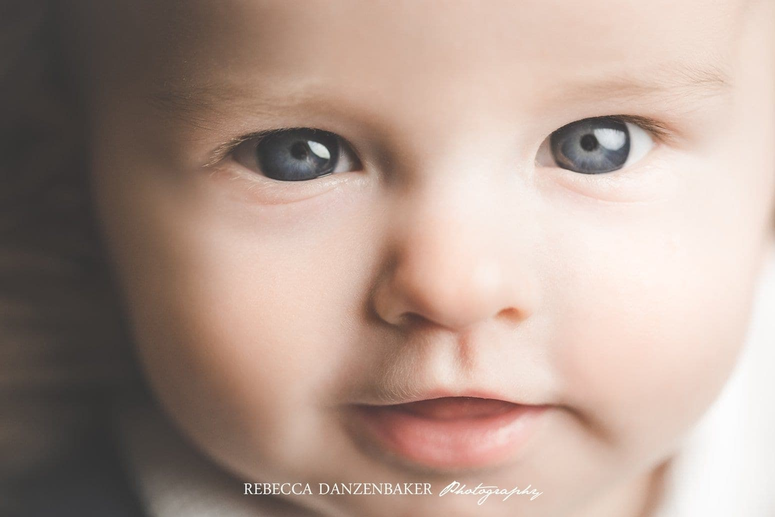 Close up baby photography